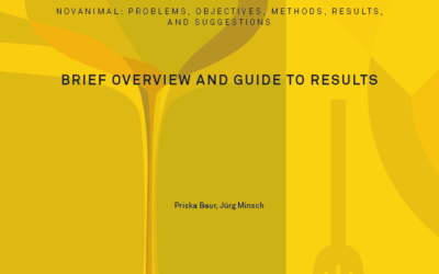 NOVANIMAL: problems, objectives, methods, results, and suggestions