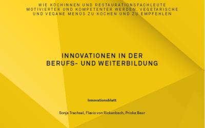 Innovationen in der Berufs- und Weiterbildung