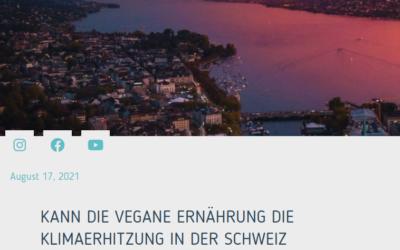 Kann die vegane Ernährung die Klimaerhitzung in der Schweiz bremsen?